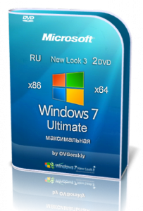 Windows 7 Ultimate SP1 NL3 by OVGorskiy® 07.2015 2 DVD (x86-x64) (2015) [Rus]