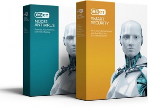 ESET Smart Security + NOD32 Antivirus 9.0.377.1 Repack by SmokieBlahBlah [Ru]