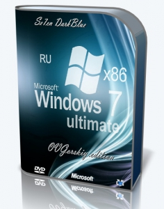 Microsoft® Windows® 7 Ultimate Ru x86 SP1 7DB by OVGorskiy 11.2020 1DVD