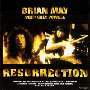 Brian May with Cozy Powell 1993 - Resurrection