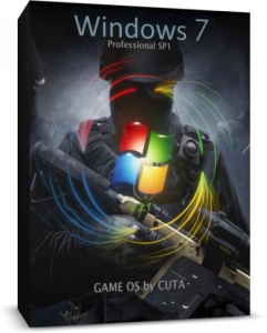 Windows 7 Professional SP1 x64 Game OS 2.5 by CUTA [Ru]