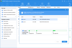 AOMEI Partition Assistant Professional/Server/Technician/Unlimited Edition 8.6 RePack by D!akov [Multi/Ru]