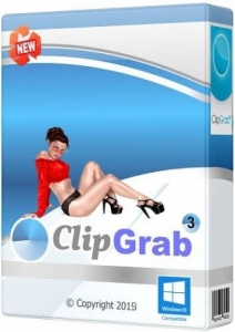 ClipGrab 3.8.5 RePack (& Portable) by TryRooM [Multi/Ru]