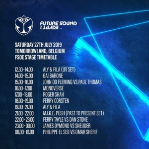 James Dymond & Sneijder - Live @ Future Sound Of Egypt Stage, Tomorrowland, Belgium 2019-07-27