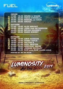 VA - Live @ Luminosity At The Beach, Beachclub Fuel Bloemendaal, Netherlands
