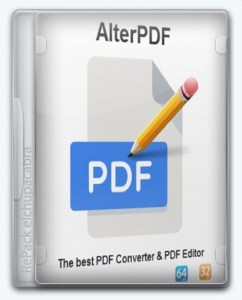 AlterPDF Pro 4.0 RePack (& Portable) by elchupacabra [Multi/Ru]