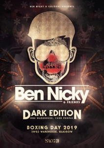 Ben Nicky - Live @ SWG3 Studio Warehouse Glasgow, United Kingdom 2019-12-26