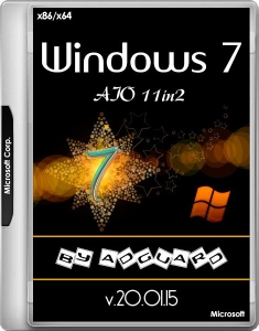 Windows 7 SP1 with Update 7601.24544 AIO 11in2 (x86/x64) by adguard (v.20.01.15) [Ru]