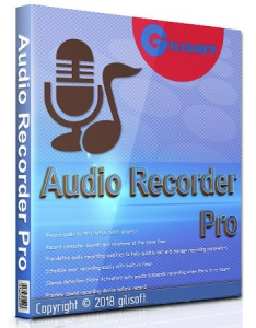 GiliSoft Audio Recorder Pro 10.0.0 RePack (& Portable) by TryRooM[Ru/En]