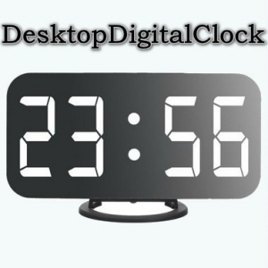 DesktopDigitalClock 3.11 Portable [Multi/Ru]