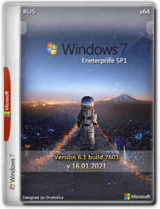Windows 7 Enterprise SP1 x64 Rus by OneSmiLe
