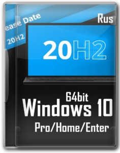 Windows 10 20H2 (19042.804) x64 Home + Pro + Enterprise (3in1) by Brux
